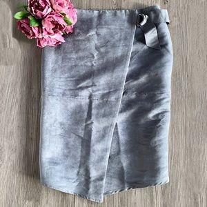 Peter Morrissey Grey Wrap Skirt